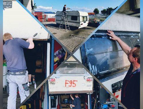 Gestern haben unsere Handwerker den Bürowohnwagen und den Wohnwagen der Küchenfrauen wieder Fit für den Straßenverkehr gemacht. Es wurde unter anderem die Beleuchtung erneuert und die Abstützung repariert. Die Bereifung wurde bereits vor kurzem erneuert. So können wir sicher in die kommenden Zeltlager starten.#zlw2019 #baldgehteslos #Wüllen2019